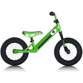 "Rebel Kidz Air Loopfiets 12,5"" Kinderen, race design/green"